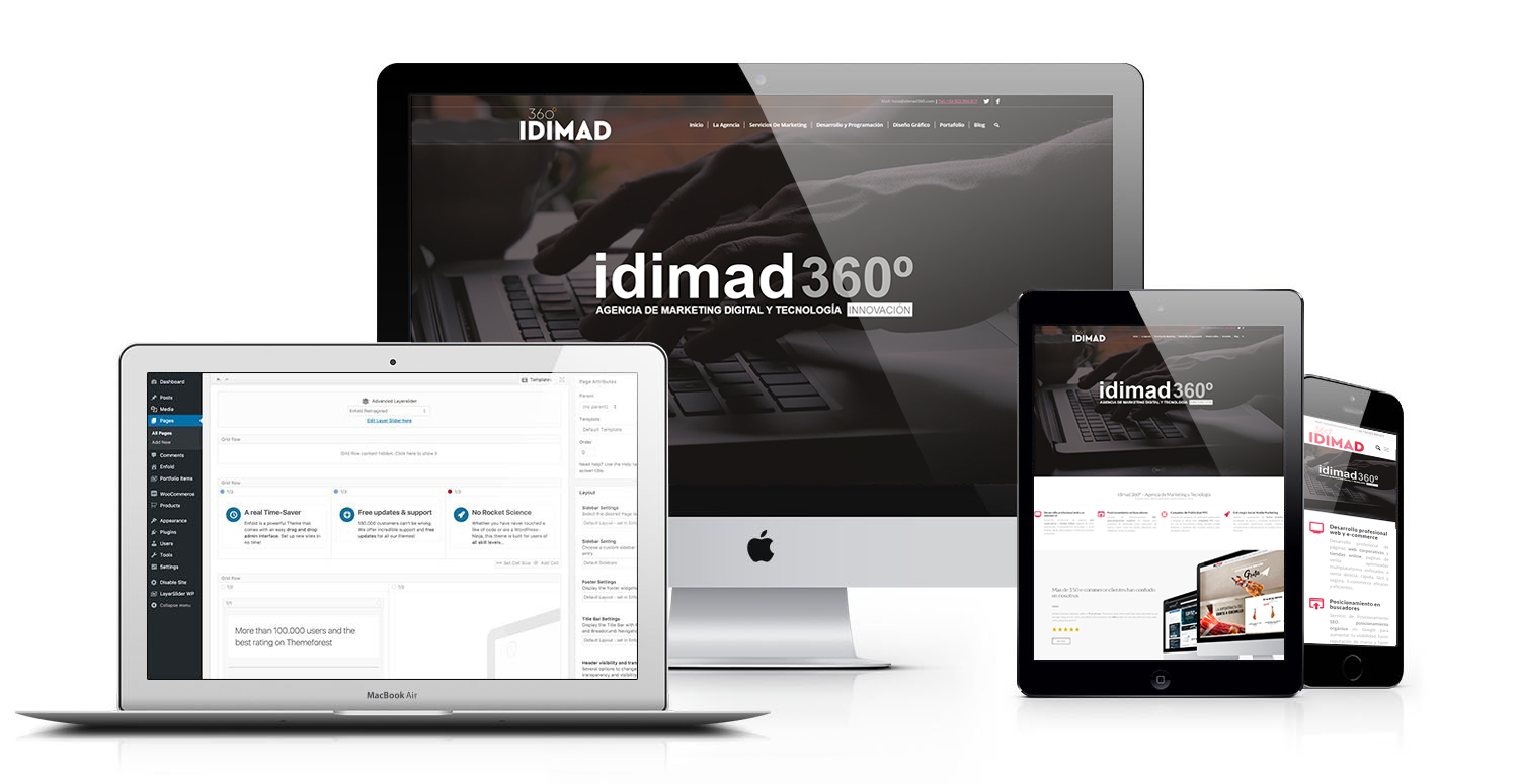 Idimad 360 Agencia de Marketing digital en Salamanca multiplataforma responsive