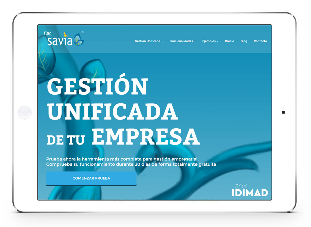 Idimad 360 - Agencia de marketing digital y tecnología en Salamanca ERP Savia programa de gestión para empresas