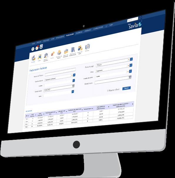 Idimad 360 Agencia de Marketing y Tecnología SAVIA Facturación
